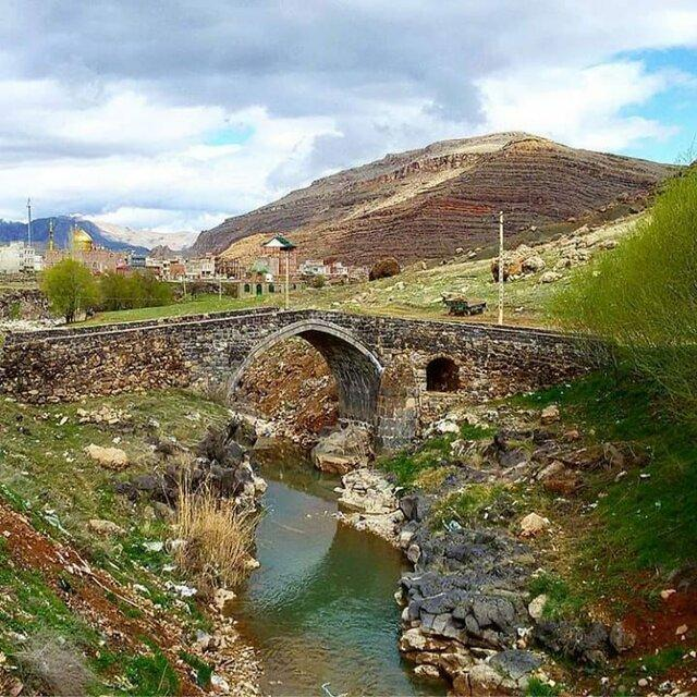پل تاریخی قالاجیق ماکو؛ یادگار صفویه