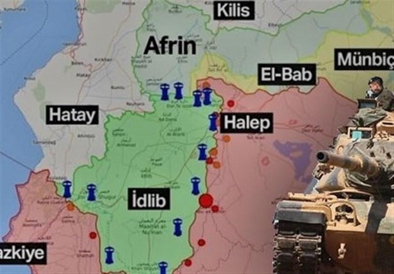 ادامه پشتیبانی ترکیه از حملات جبهه تروریستی النصره به حومه ادلب