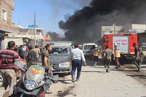 انفجار در پایتخت سوریه