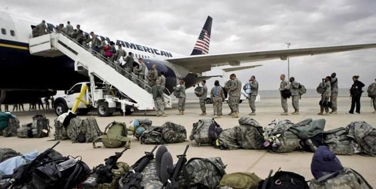 عقب نشینی کامل بخشی از نیروهای ائتلاف آمریکایی از یک پایگاه در غرب عراق