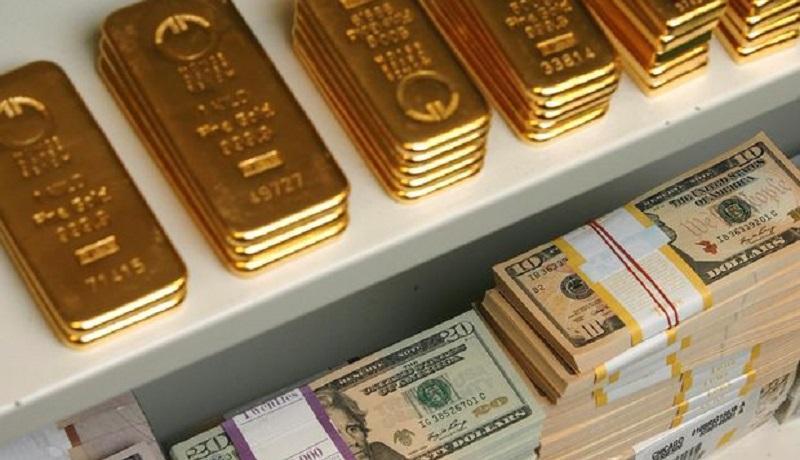 رشد دلار و افت دارایی های پرریسک در معاملات روز چهارشنبه ، طلا اندکی ارزان شد
