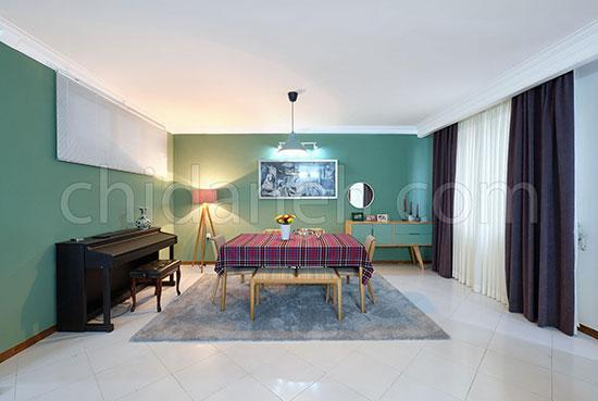 خانه 170متری نیکی و محمدجواد؛ مینیمال، کاربردی و زیبا